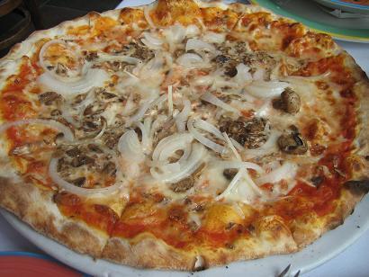 美味しいピザ!