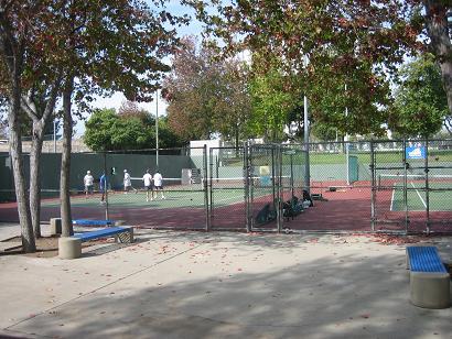 テニススクールの様子