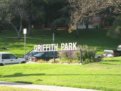 グリフィスパークの入り口