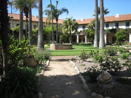 ミッションのお庭