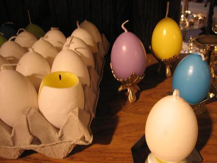 卵キャンドル