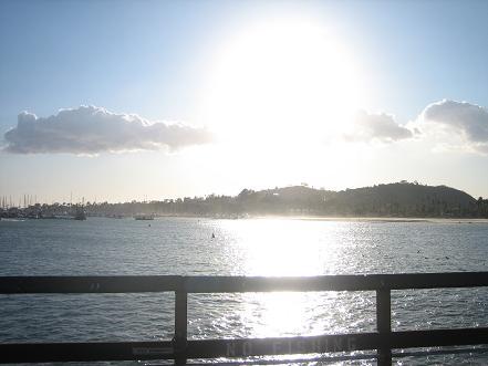 サンタバーバラの海