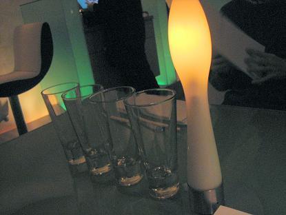 緑のライティング