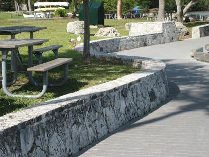 珊瑚の石垣