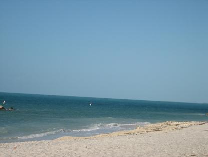島内一、美しいビーチ