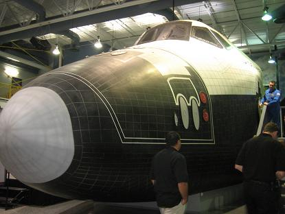シュミレーション用の宇宙船