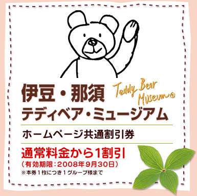 teddy bear bear coupon