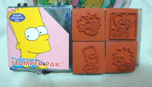 複製 -Simpsons Stamps Set front