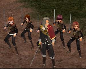 [G9]ファロン隊長率いる親衛隊