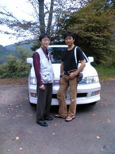 じゅうべいさん(右)とタノ