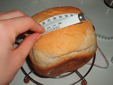 HB食パンの計測