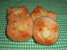 ヨーグルト酵母deライ麦チーズパン#2