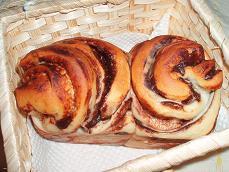 ぐるぐるチョコ ミニ食パン
