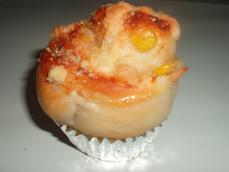 グルグル ツナマヨコーンパン#1