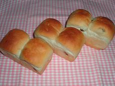 ハニーレーズンミニ食パン#1