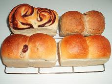 ホワイトデーの お返し 4種のミニ食パン♪
