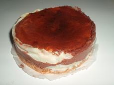 チョコマーブルテーズケーキ