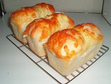 3種のチーズ ミニ食パン#3