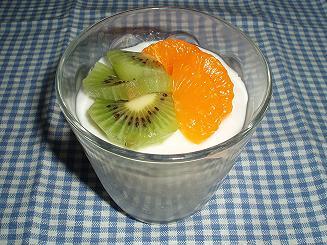ココナッツミルクプリン