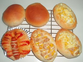 薄力粉パン