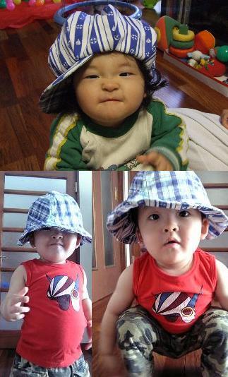 ママ ハンドメイド帽子