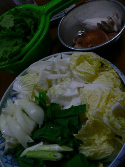 2008年12月1日夕食