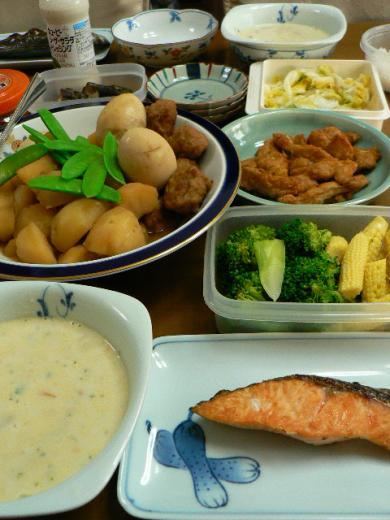 2009年6月1日夕食