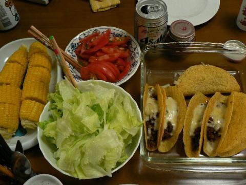 2008年9月2日夕食