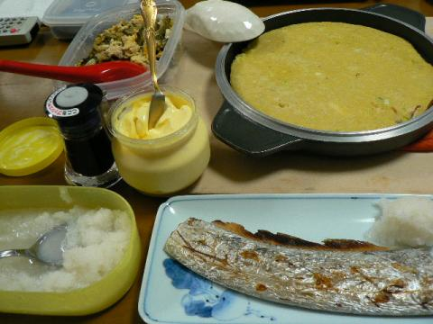 2008年10月2日夕食