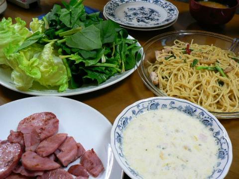 2009年3月2日夕食