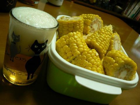 とうきびでビール
