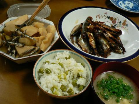2009年5月3日夕食