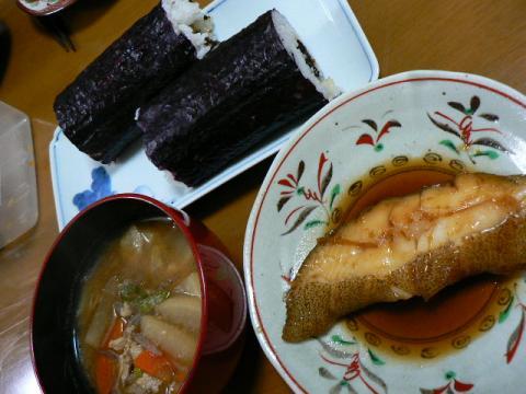 2009年2月3日夕食