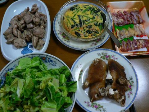 2009年3月3日夕食
