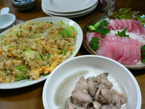 2009年1月4日夕食