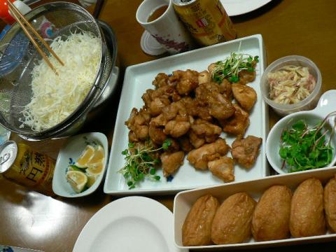2008年10月4日夕食