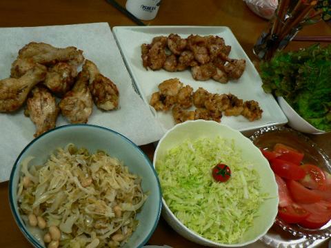 2009年6月4日夕食