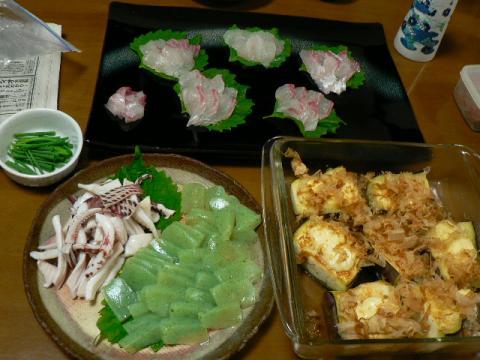 2008年9月4日夕食