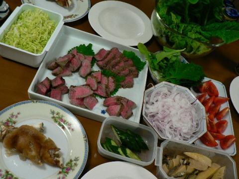 2009年5月5日夕食