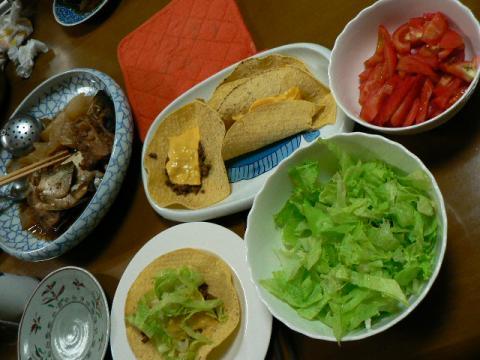 2008年10月6日夕食