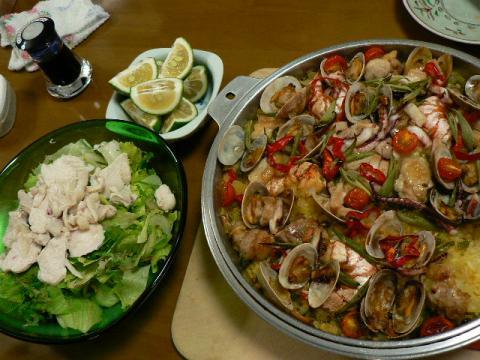 2008年9月7日夕食