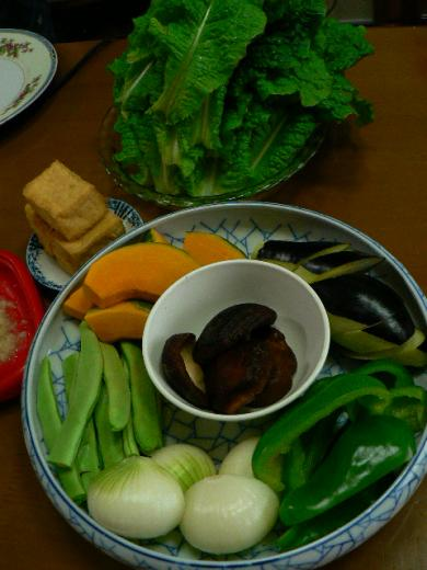 2009年6月7日夕食