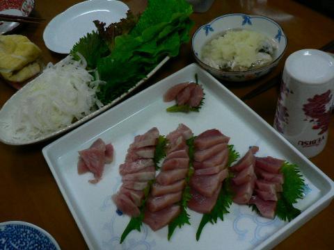 2009年3月7日夕食