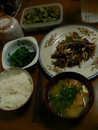 2009年4月10日夕食