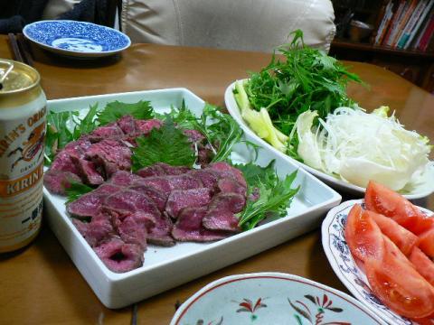 2009年1月11日夕食