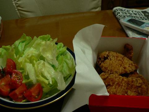 2009年7月11日夕食
