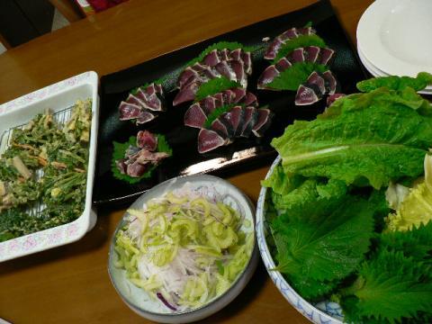 2009年5月11日夕食