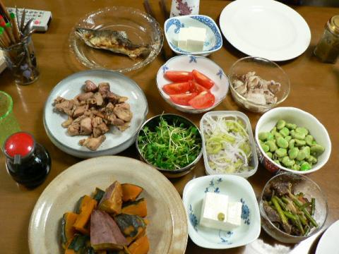 2009年5月12日夕食