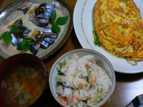 2009年2月12日夕食