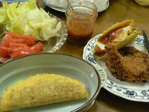 2009年7月12日夕食